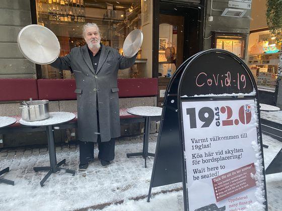 19 Glas i Gamla Stan, Stockholm.