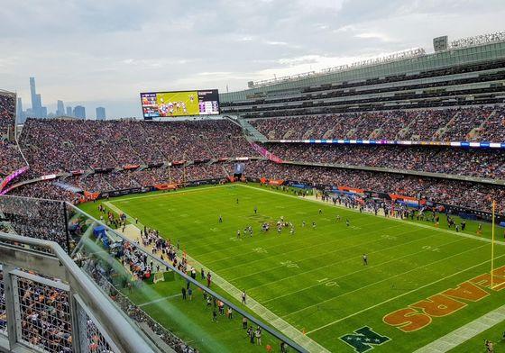 Bild: Soldier Field, Chicago. Av: NFL Podden