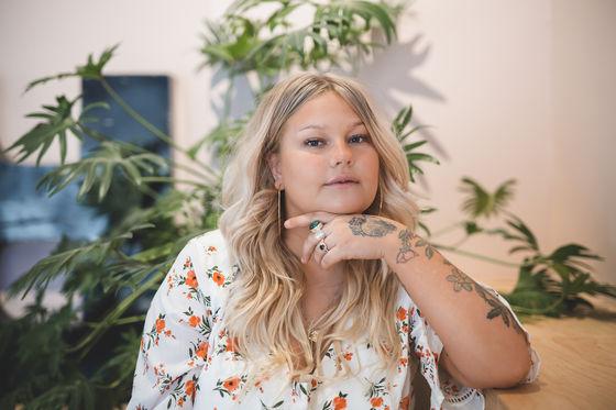 Sarah Klang, foto: Mika Ågren.