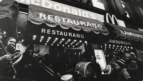 Invigning av McDonald's Kungsgatan.