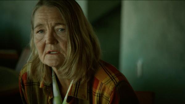 Ann Petrén som den pensionerade Pippi Långstrump