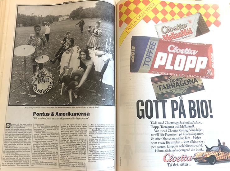 Nöjesguiden #4, 1989.