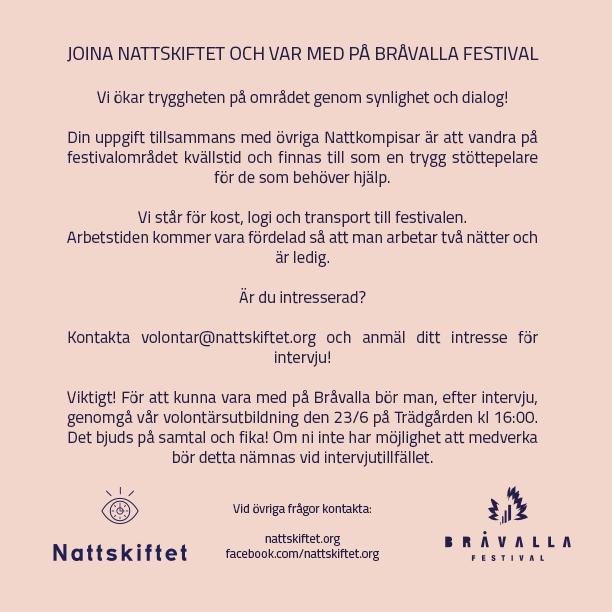 I april lanserade Trädgården projektet Nattskiftet 7cb7d25b4e728