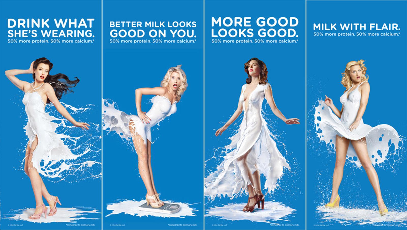 Coca Cola lanserade sin mjölkprodukt under namnet Fairlife med denna smakfulla kampanj