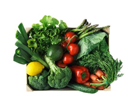 Grönsakslåda från Årstiderna