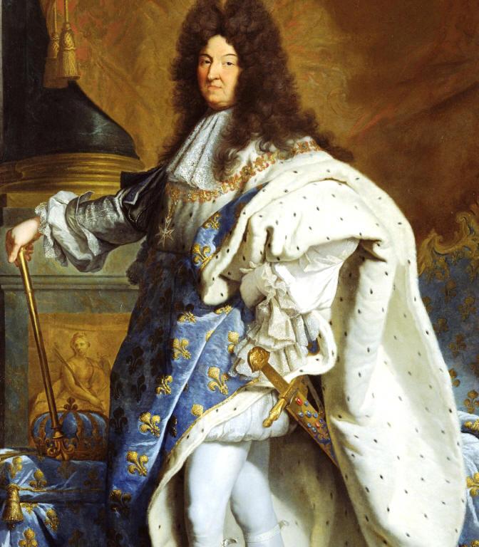 Blomkålskungen Louis XIV
