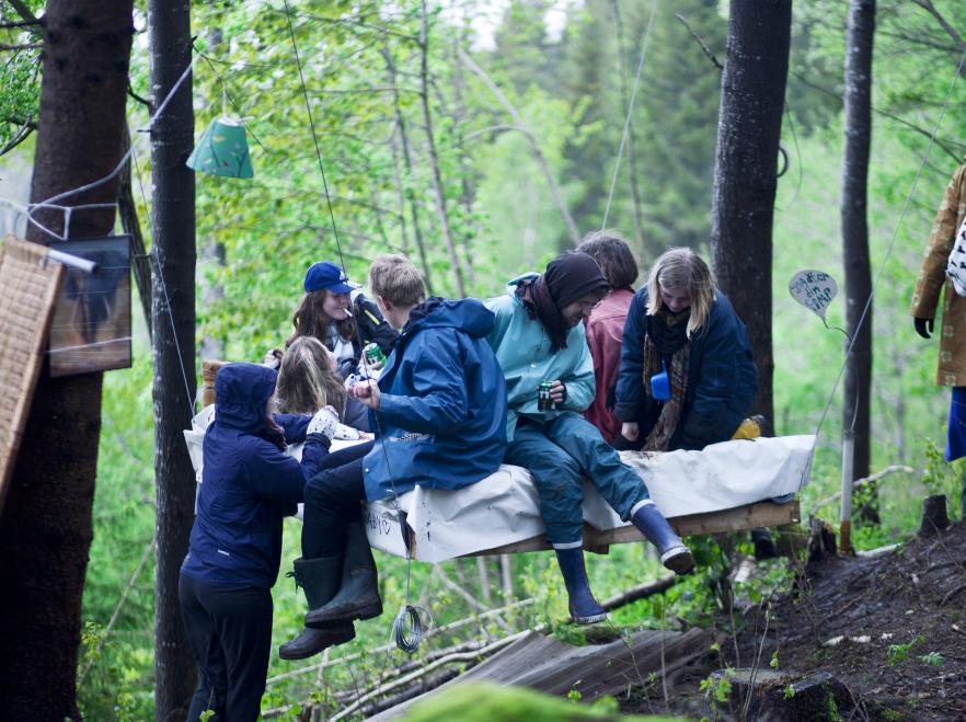 Skogsfesten – kom mycket närmre naturen. Foto, Camilla Hamarin/Matilda Söderberg