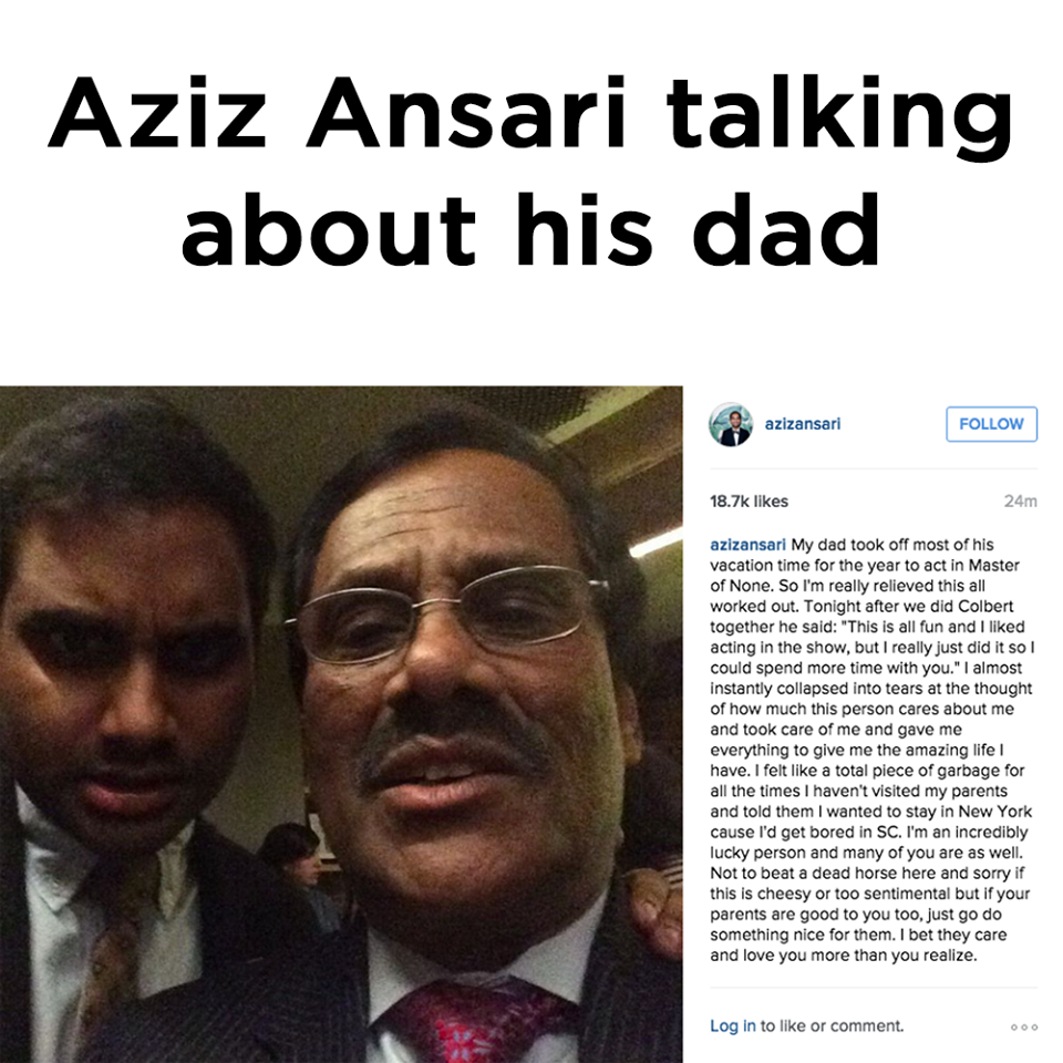 Aziz Ansari kärlek online dating