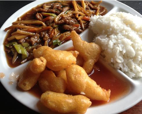 kinesisk mat kyckling