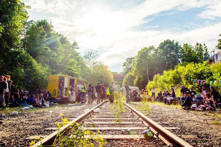 Järnvägsfest på Pick Up The Steam.